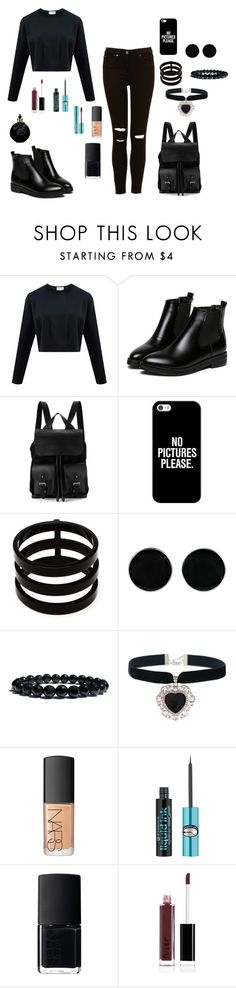 """Untitled #759"" by nestor-ana ❤ liked on Polyvore featuring Aspinal of London, Casetify, Repossi, AeraVida, Rock 'N Rose, NARS Cosmetics and Valentino"