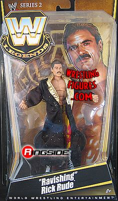 RINGSIDE COLLECTIBLES WWE Toys, Wrestling Action Figures, Jakks Pacific, Classic Superstars Action F: RICK RUDEWWE LEGENDS 2WWE Wrestling Action Figure