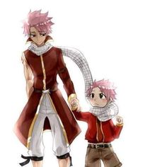 """Theory that Sting is Natsu's & Lucy's son"" seems logical ..."
