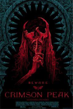 Cool Art: Crimson Peak posters by Guy Davies & Daniel Danger