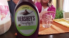 Our HERSHEY's SIMPLY 5 syrup contains only five simple ingredients which are Non-GMO. Enjoy in Milk, on ice cream or with your favorite fruit.