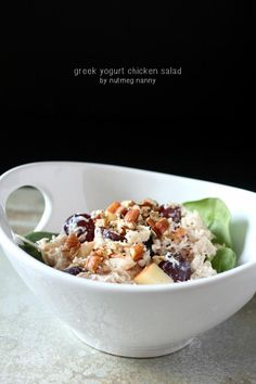 Recipe: Salad Recipes / Greek Yogurt Chicken Salad Recipe - tableFEAST