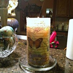 Crafty in Crosby: 5 Minute Candle Creation