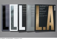Les Ambassadeurs magazine by Nicholas Zenter (Switzerland)