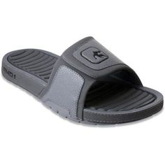 And1 Men's Enigma Slide Sandal, Size: 11, Gray