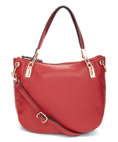 Another great find on #zulily! Kate & Alex Red Candace Hobo by Kate & Alex #zulilyfinds
