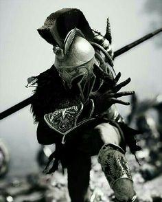 An ace up his sleeve Greek Warrior, Fantasy Warrior, Gladiator Tattoo, Spartan Tattoo, Knight Tattoo, Mythology Tattoos, Spartan Warrior, Warrior Tattoos, Assassins Creed Odyssey