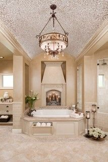 Gorgeous traditional - bathroom - houston - by Morning Star Builders LTD