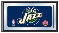 NBA Utah Jazz Team Logo Wall Mirror