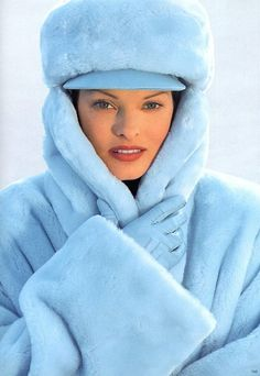 Escada (by Margaretha Ley) Catalog Fall/Winter 1993 - Linda Evangelista
