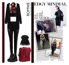 """Edgy Minimal"" by oliverab ❤ liked on Polyvore featuring mode, women's clothing, women, female, woman, misses et juniors"