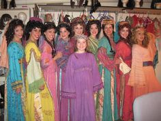joseph and the amazing technicolor dreamcoat narrator costume - Google Search