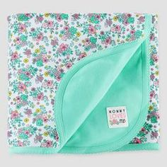 Baby Girls' Elephant Interlock Blanket - Just One You™ Made by Carter's® Cool Mint