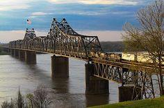 Mississippi River Bridge The Great River Road!!