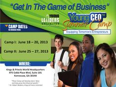 Young CEO Summer Camp for Teens