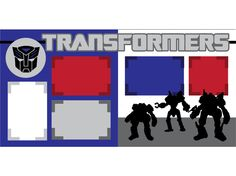 Transformers by ScrapbookConcierge on Etsy