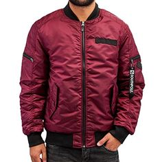 Southpole Men Jackets / Lightweight Jacket Bomber red 2XL Southpole Men Lightweight Jacket in red. Bomber in original Southpole-quality. Made of Material: 100% polyester (see article description). (Barcode EAN = 0889531289043). http://www.comparestoreprices.co.uk/december-2016-5/southpole-men-jackets--lightweight-jacket-bomber-red-2xl.asp