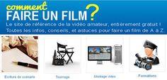 Un guide pour faire un film - écriture de scénario, tournage, montage et encodage @Faireunfilm