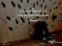 Fé; Ansiedade