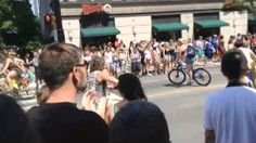 Dykecycles on Bicycles at World Pride Toronto 2014