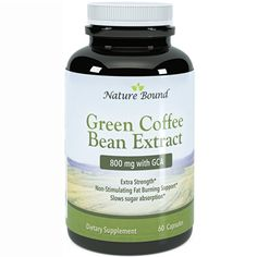 #1 Pure Green Coffee Bean - ** Lose weight and curb the snacking, the best part? ****Guaranteed By Nature Bound Nature Bound****  http://amzn.to/VNIP6A