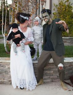 How great are these spooky monster costumes?