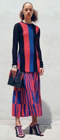 PROENZA SCHOULER http://www.vogue.com/fashion-shows/resort-2017/proenza-schouler
