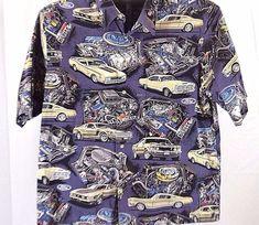 b16b3ec4eb0 Details about Reyn Sports Authentic Hawaiian by Reyn Spooner Ford Muscle  Cars XL 100% cotton. Muscle ShirtsMen SweaterAloha HawaiiMen ...