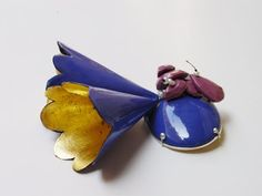 Melissa Tolar ~  Enamel, hand-cast gems, and pearl jewelry