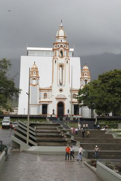 National Panteón of Venzuela in Caracas by Andres Veliz.  It was built as a church but is now a final resting place for national heroes.