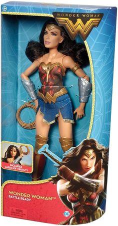 "Mattel Wonder Woman Action Doll Barbie Superhero Girl Figure w Clothes 12"" | eBay"