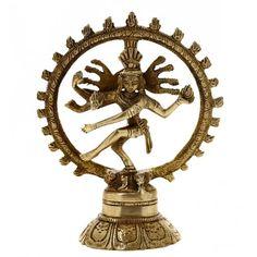 Dancing Shiva Nataraja Hindu God Religious Gifts Brass Sculpture 5.75 Inches ShalinIndia http://www.amazon.in/dp/B00JBYMS60/ref=cm_sw_r_pi_dp_Q4waub0MX27A5