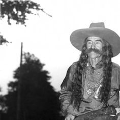 Frank B. Eaton with His Hair Down :: Pistol Pete