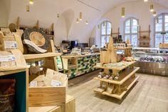 Дизайн интерьера продуктового магазина Viaporin в Финляндии