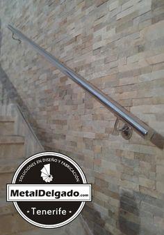 pasamano de tubo en acero inoxidable para escalera