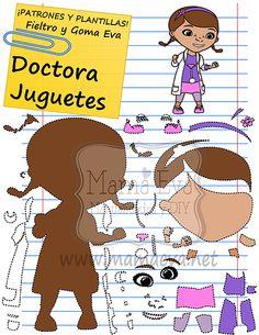 Plantillas Personajes Actuales La Doctora Juguetes