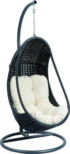 Hangstoel Funny Relax - Zwart - Sens-Line