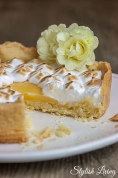 Weltbeste Tarte au citron - Zitronentarte | Stylish Living