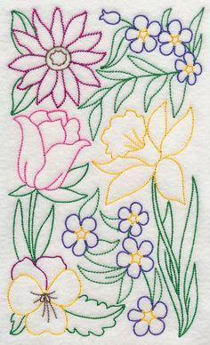 Pretty flower pattern embroidery pinterest pretty flowers embroidery pinterest pretty flowers flower patterns and flower mightylinksfo