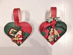 DIY Braided Christmas heart basket tutorial by Anne Rostad Christmas Snow Globes, Christmas Hearts, Christmas Music, Christmas Crafts For Kids, Christmas Carol, Christmas Ideas, Christmas Gifts, Handmade Christmas Tree, Christmas Tree Ornaments