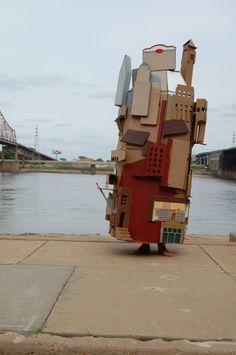 The website of Emily Speed Cardboard Sculpture, Cardboard Art, Bauhaus, Modern Art, Contemporary Art, Bokashi, Installation Art, Art Installations, Walkabout