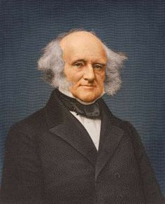 Martin Van Buren (1782 - 1862), eighth president of the United States - Stock Montage/Getty Images