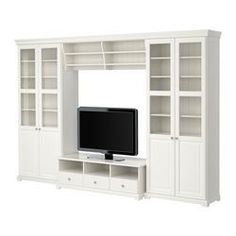 This is going in our office except the right side is a bookcase and there is no TV in the middle. The desk goes there.