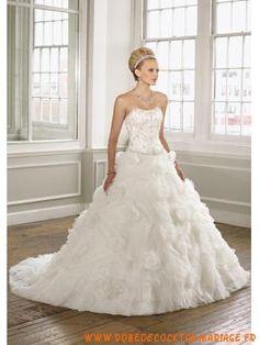 Robe De Mariage Princesse En Tulle