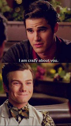 Kurt's face! He's like yassss bae!