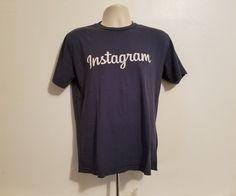 Instagram Social Media Adult Medium Gray T-Shirt #GoldenGoods #BasicTee