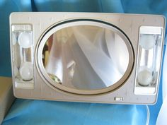 MAKE UP   MIRROR      60s by Roselynn55 on Etsy