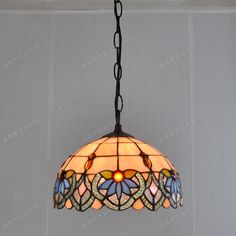 125.60$  Buy here - http://ali793.worldwells.pw/go.php?t=32646408982 - Factory direct 25CM continental table chandelier retro nostalgia balcony Tiffany glass lamps Kitchen lighting Cafe 125.60$