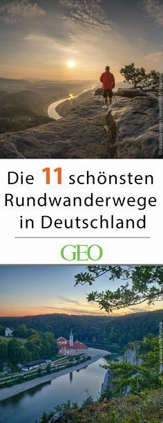 Die schönsten Rundwanderwege in Deutschland Hiking: The most beautiful hiking trails in Germany. Germany's circular hiking trails invite you to a relaxing day trip. We present the most beautiful routes and reveal the most idyllic places to rest and linger Beautiful Places To Visit, Cool Places To Visit, Places To Travel, Places To Go, Holiday Destinations, Travel Destinations, Voyage Quotes, Koh Lanta Thailand, Voyage New York