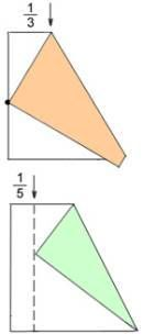 Divide paper into 3rds & 5ths, & other origami basics